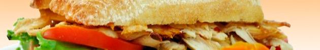 Sándwiches de pollo