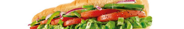 Sándwiches vegetarianos (20 a 25 cm)