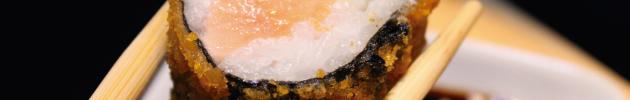 Rolls tempura (calientes)