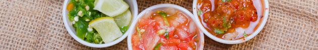 Salsas por kilo
