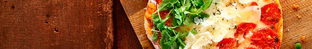 Pizzas (8 y 12 porciones)