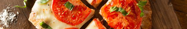 Pizzas tradicionales (cuadradas)