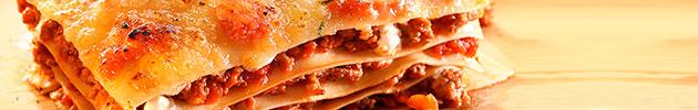 Pastas caseras y salsas