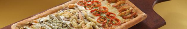 Pizzas mitad y mitad