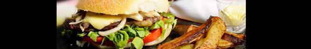 Sándwiches en pan de campo