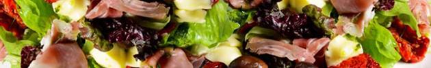 Ensaladas  con vegetales orgánicos
