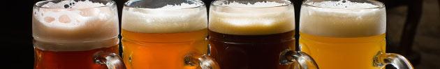 Cervezas descartables