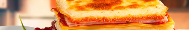 Pratos congelados (embalagem para microondas 400 g)