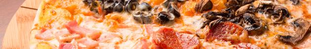 Pizzas meio a meio (familiar)