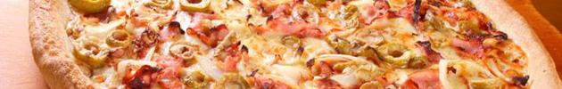 Pizzas tradicionais (8 pedaços)