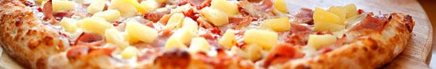 Pizzas suínos