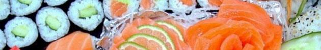 Combinado sushi e sashimi
