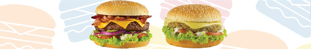 Exclusivos de hambúrguer