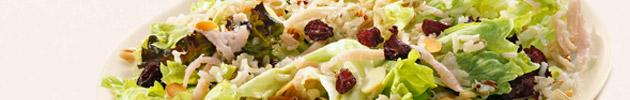 Grelhados com salada