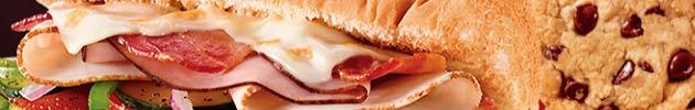 Combos sanduíches de 30 cm