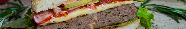 Sanduíches de hambúrguer