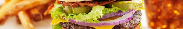 Trios de hambúrguer
