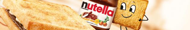 Tostex e Nutella