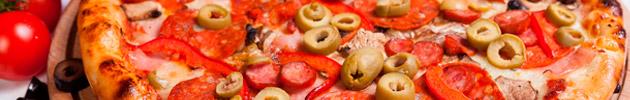 Pizzas tradicionais médias