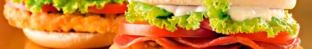 Sanduíches promocionais