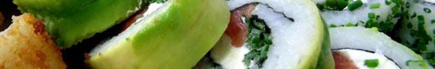 Avocado rolls (envueltos en palta)