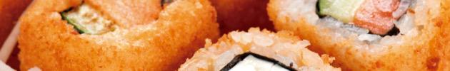 Hot rolls (rolls calientes en panko)