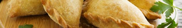 Empanadas de pollo al horno