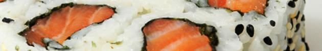 Sushi rolls clásicos (alga por dentro)
