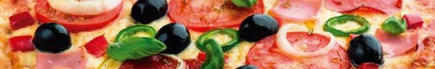 Pizze grande clásica con mozarella (35 cm.)