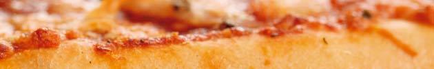 Pizzetas familiares (30 cm)