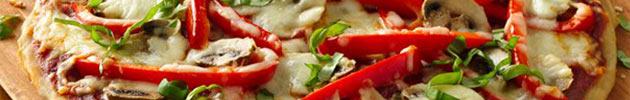 Pizzetas (30 cm diámetro)