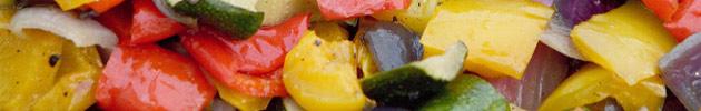 Verduras a la parrilla
