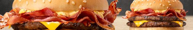 BK combos hamburguesas