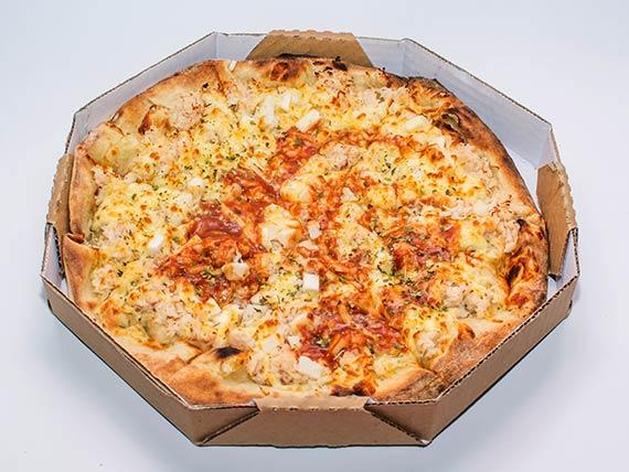 Pizza especial média - frango com palmito