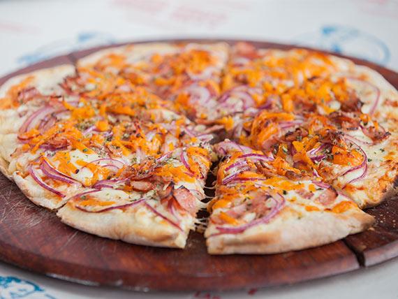 Pizzeta caprichosa chica (30 cm)