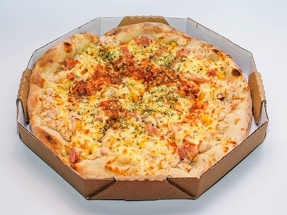 Pizza média - franbacon