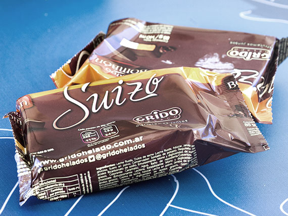 Bombón suizo helado