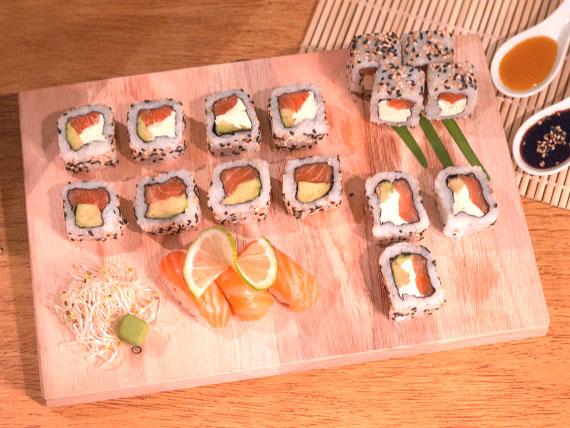 Combo puro salmón mediano (18 piezas)