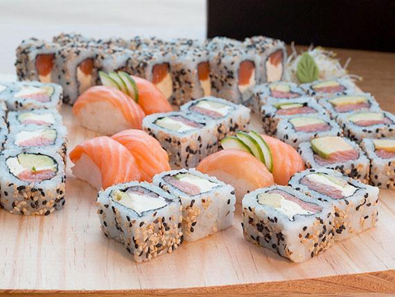 Combo puro salmón grande (40 piezas)
