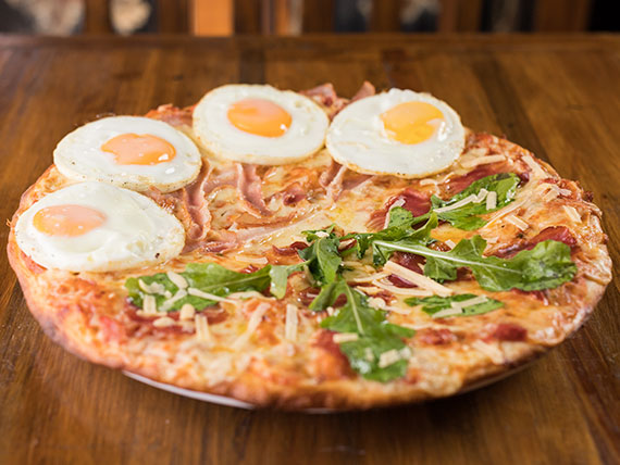 Pizza mitad y mitad premium