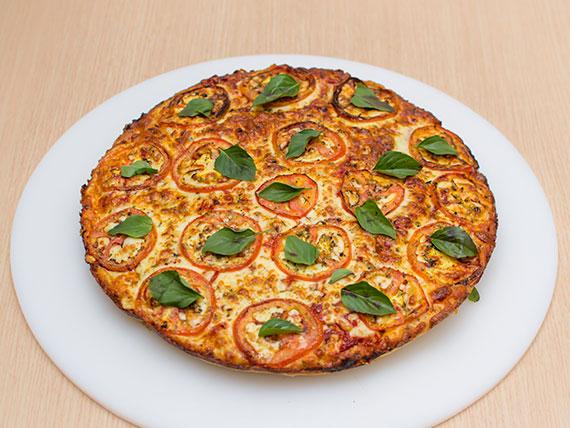 Pizza de margherita média