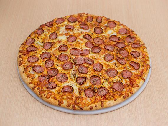 Pizza de calabresa grande