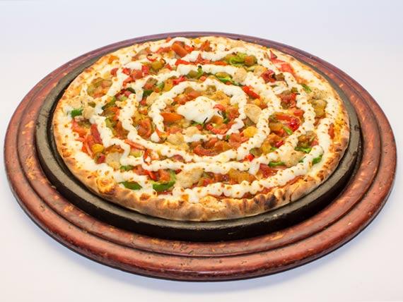 Pizza grande exótica mexicana
