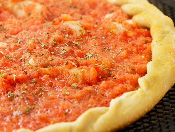 Pizzeta grande al tomate