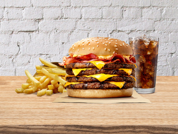 Combo BK Stacker® Cuádruple