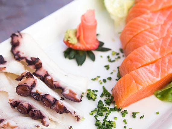 49 - Sashimi de pulpo - normal (6 cortes)