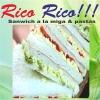 Rico Rico Sandwich a la Miga